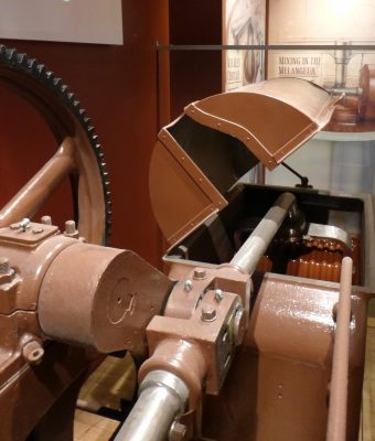 Hershey Conche in the early 1900s made by J.M. Lehmann in Dresden / Paris. This machine is on display as part of the Hershey Story Collection.
